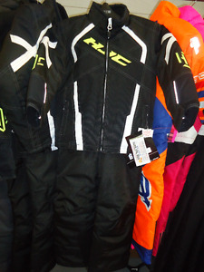 """CLEAROUT SALE ON ALL KIDS """"2017"""" HJC SNOWMOBILE SUITS!"""