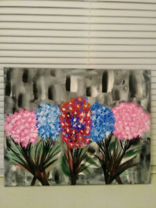 Acrylic paintings for wall hanging