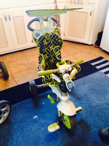 Tricycle transformable