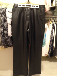 BEAUTIFUL SOFT LAMBSKIN LEATHER PANTS
