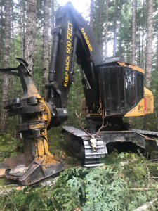 2007 Tigercat L870C Feller Buncher