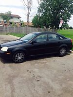 Great deal ! Chevrolet Optra 2004