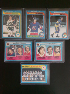 MINT LOT OF OPC 1979 HOCKEY CARDS