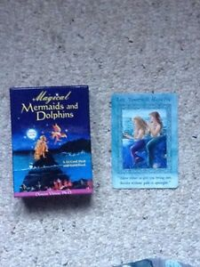 Oracle cards, mermaids and dolphins