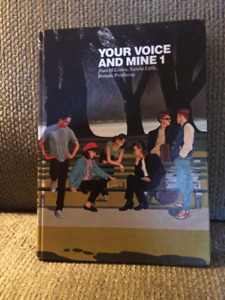 Your Voice and Mine text book