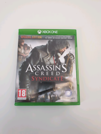 Assassins creed syndicate Xbox one disc