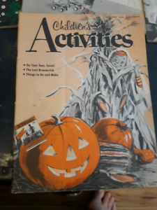 Vintage Childrens Activities Magazines