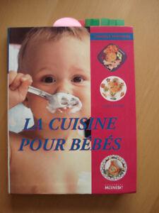 Livre « La cuisine pour bébés »