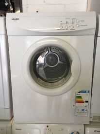 White Bush Vented Tumble Dryer Fully Working Order Like New Just £75 Sittingbourne