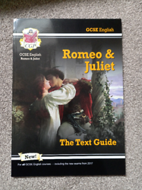 GCSE text guide for romeo and Juliet