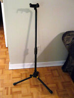 "FULLY ADJUSTABLE ""HERCULES"" GUITAR STAND"