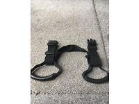 Handled waist strap