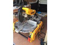 Dewalt d27107 flip over saw like new condition £900