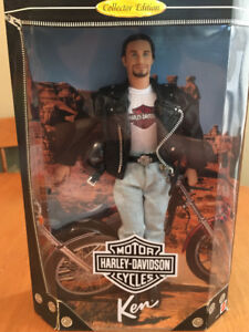 Barbie doll Harley Davidson Ken doll #1