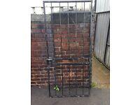 Security gate metal gate security door burglar bar wrought iron gate