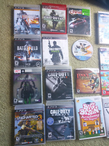 WII XBOX ONE PS3 PS4 GAMECUBE GAMES
