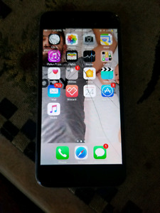 Cracked iPhone 6 with rogers