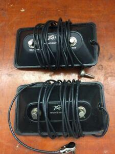 2 Peavey channel Switchers.