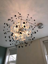 Sputnik globe chandelier ceiling light