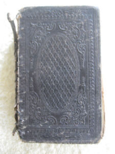 OLD ANTIQUE [1838] CHURCH of SCOTLAND HOLY BIBLE [Glasgow]