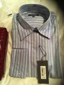 Ladies' dress shirt with cuffs from the UK - new with tags