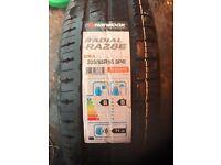Brand new 205/65/16 C van tyres handkook