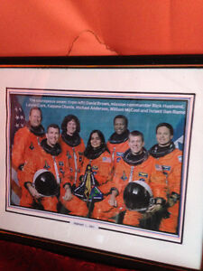 Feb 1, 2003 Space Shuttle Crew-One of the Last Articles/ Picture