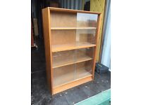 Retro teak 1970's Herbert Gibbs display cabinet