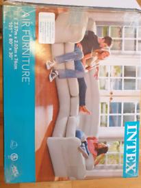 Intex inflatable corner sofa