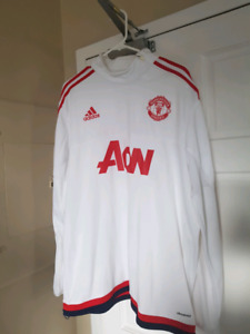 Manchester United Training Top White