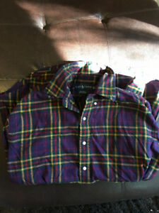 Vintage Ralph Lauren Rare Medium Sized Dress Shirt