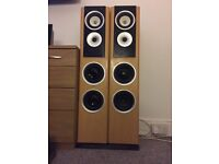 2x TDL tower speakers