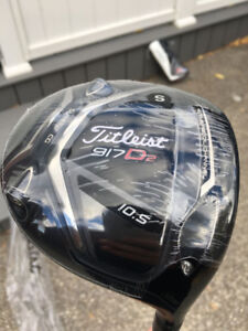 Brand New Sealed Titleist 917 D2 Stiff Shaft Right Hand Driver