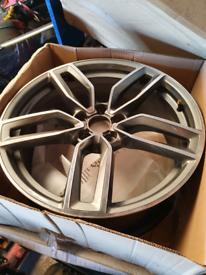 Audi a6 alloy wheel