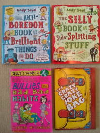 2x NEW Andy Seed books + 2 more books