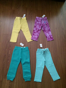 New with tag 2T pants, all 4 for $25