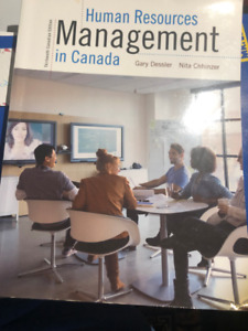 Human Resources Management in Canada 13th edition