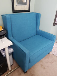 Blue Chair and a Half