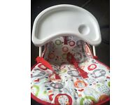 Baby high chair redkite