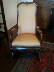 Antique Rocking Chair - Elegant and Beautiful