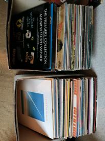 Mixed vinyl LP's