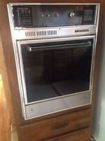 "Retro wall mounted oven Belanger  24""x 32.5"" for sale"