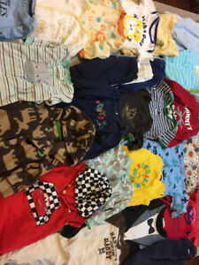 boys 6-9 and 6-12 month clothes