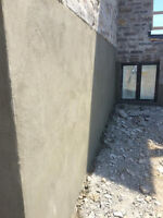 PARGING CONCRETE and Foundation repair