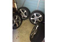 """17"""" BMW Alloys, with Pirelli Run Flat Tyres"""