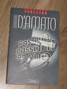 PAS UN PASSANT EN VUE DE BARBARA D'AMATO