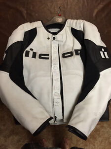 Mint Condition Leather Icon Riding Jacket