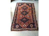 Old Traditional Handmade Persian Rug - 240cm X 150cm