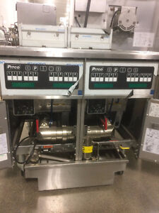 Pitco Electric Double Fryer High Volume