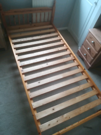 Single bed frame. Can deliver local Leicester